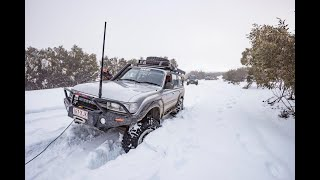 Bogged in the snow! The Victorian High Country like you've never seen it before