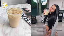 WORLD'S EASIEST ICE LATTE RECIPE | BETTER THAN STARBUCKS