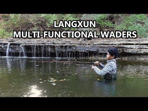 LANGXUN Kids Fishing Waders