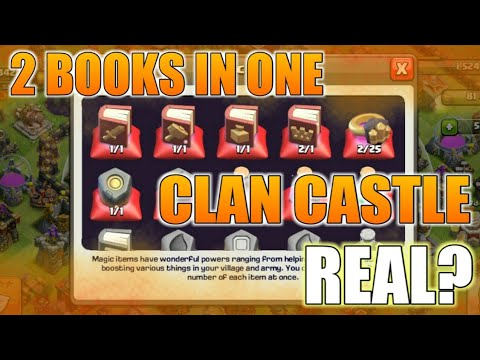 2 Book of Hero in 1 Clash Castle | How IS IT POSSIBLE ? | FULL INFORMATION | HINDI | 2018