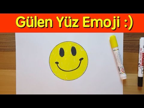 Gulen Surat Emoji Nasil Cizilir Baslangic Seviyesi How To