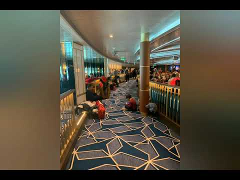 7,000 trapped off Italian coast on cruise ship over coronavirus fears