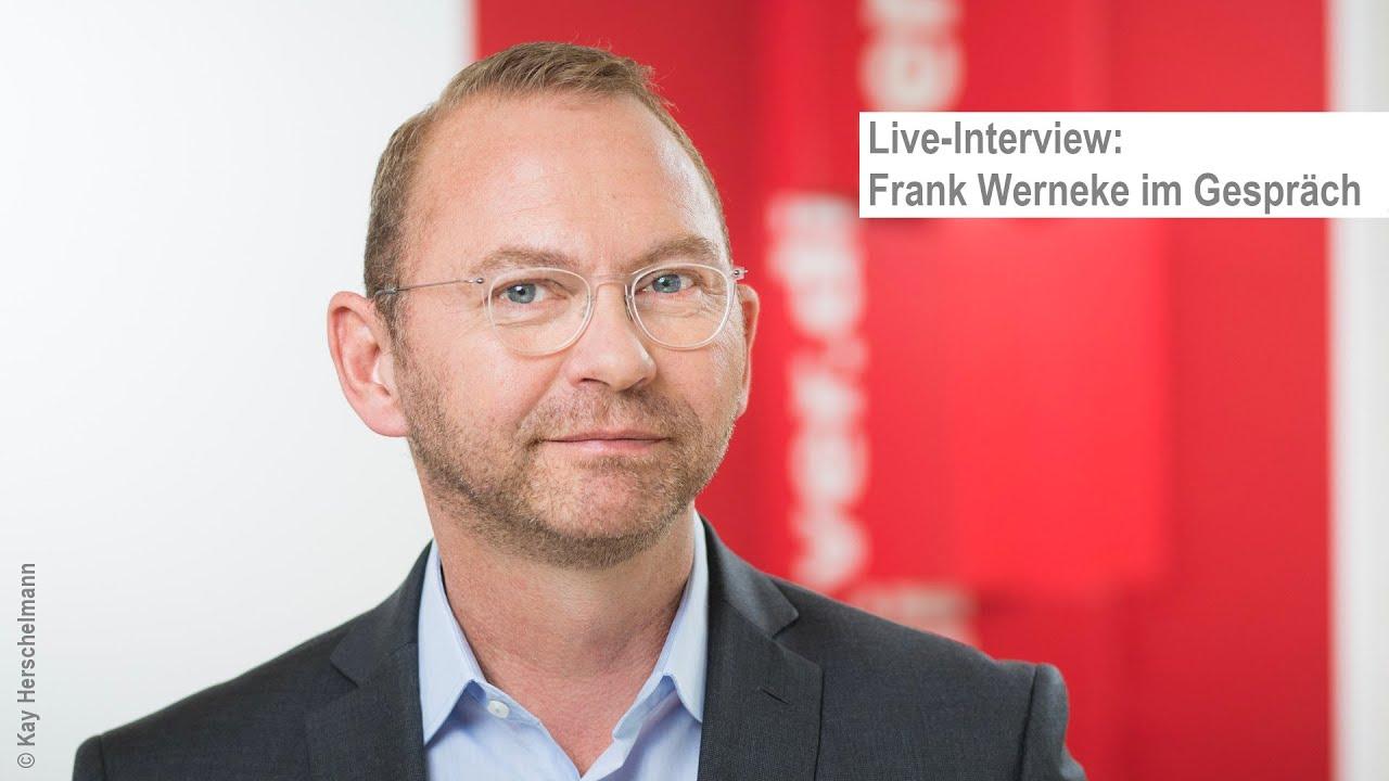 Live-Interview: Frank Werneke im Gespräch
