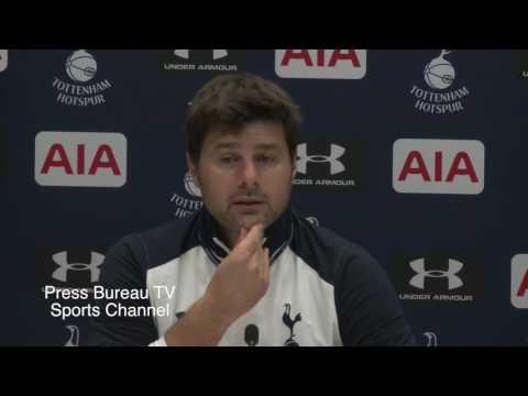 Mauricio Pochettino pre Tottenham vs Manchester City