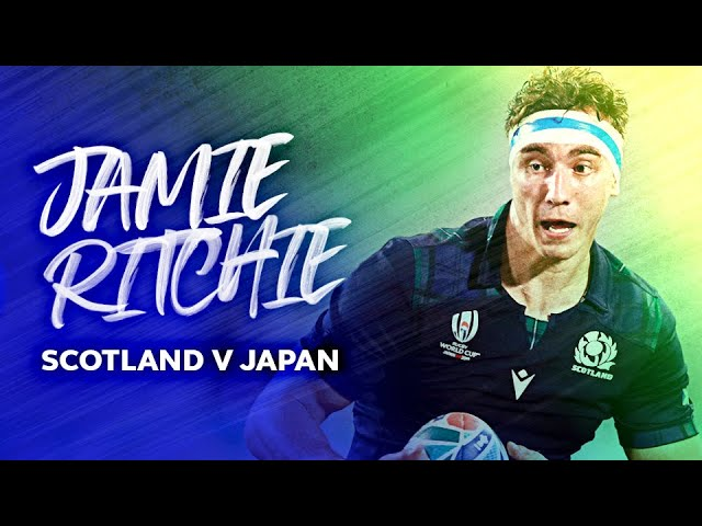 Jamie Ritchie's incredible breakdown performance against Japan | Rugby World Cup