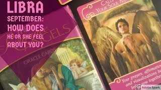 L BRA  HOW DOES HE OR SHE FEEL ABOUT YOU  SEPTEMBER 2017 TAROT