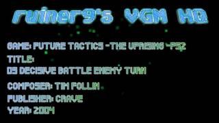 Future Tactics -The Uprising -PS2 09 Decisive Battle Enemy turn