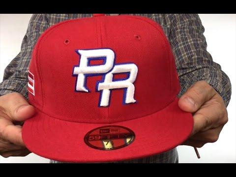 83790b64f4e Puerto Rico  PERFORMANCE WBC-2  Hat by New Era - YouTube
