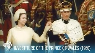 Prince Charles: Investiture Of The Prince Of Wales Aka Pow 1969 | British Pathé