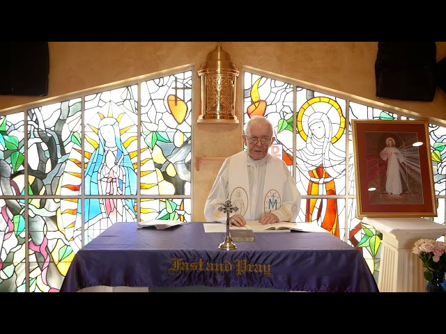 Day 1 - Fr. Michael Barry - Mercy Novena - Divine Mercy Chaplet