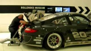 Porsche 997 GT3 Cup start up and revving