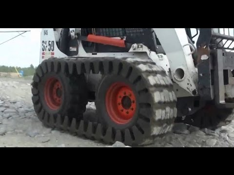 Camoplast Skid Steer Over The Tire Tracks