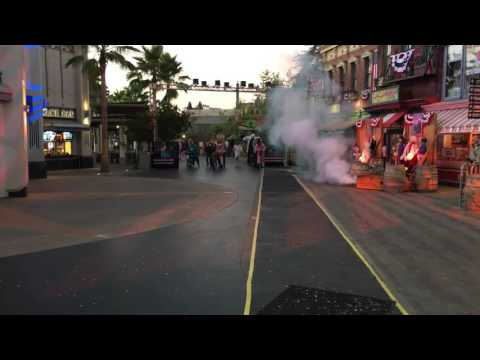 2016 HHN Halloween horror nights front row opening ceremonies