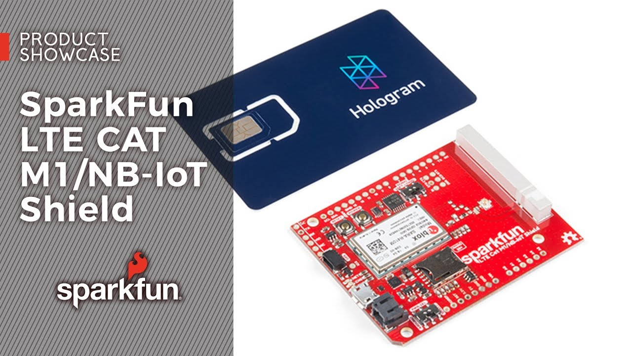 SparkFun LTE CAT M1/NB-IoT Shield - SARA-R4 - CEL-14997