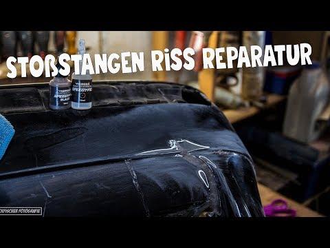 [Speedy-Fix  Schweißpulver]  Stoßstangen Riss Reparatur