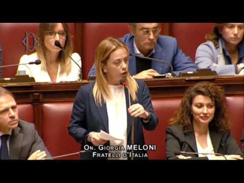 Stop Mes, Giorgia Meloni replica al premier Conte. Da non perdere!