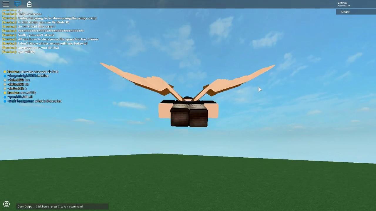 Showcasing the Wings Script | Void Script Builder #15