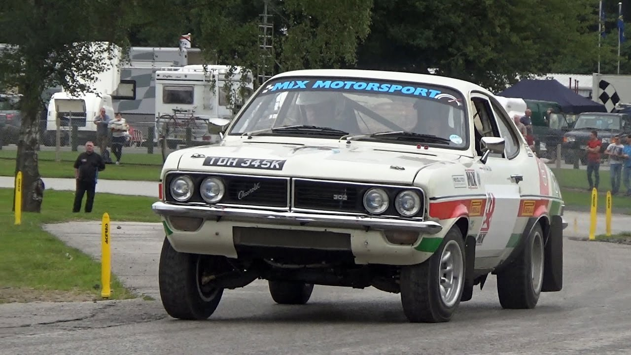 1973 Chevrolet Firenza Can Am V8 Powered Rally Car in Action ...