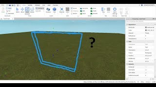 How to make invisible block for your game [ROBLOX]