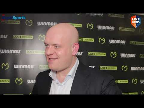 "Michael van Gerwen on joining Winmau: ""I need to find that extra one or two per cent"""