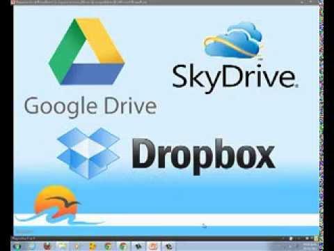 Que es y como funcionan Google Drive, Dropbox y Sky Drive