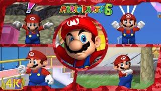 All Minigames (Mario gameplay)   Mario Party 6 ⁴ᴷ
