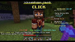 Let's Play Minecraft Skyblock Hypixel #5