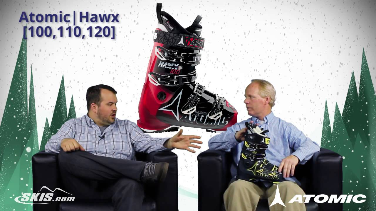 super popular 0ba7c 14076 2016 Atomic Hawx 100, 110, and 120 Mens Boot Overview by SkisDotCom