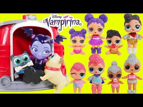 Vampirina Disney Jr Wrong Heads Paw Patrol Jail Rescue Game   Surprise Toys Kids Puppy Dog Pals!