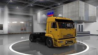 Euro Truck Simulator 2 Обзор мода (KamAZ 5460)
