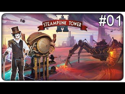 DIFENDIAMO LA NOSTRA TORRE STEAMPUNK DAGLI ATTACCHI DEL NEMICO | Steampunk Tower 2 - ep. 01