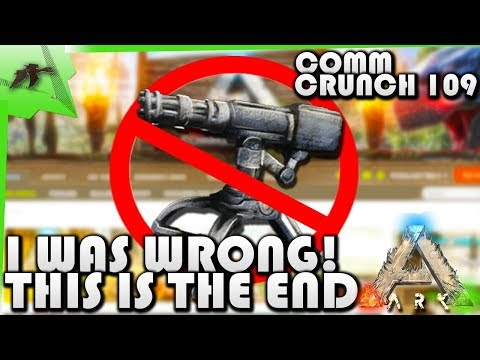 Turrets & Plant X Cap On Official /Xbox & PC Crossplay- Community Crunch 109- Ark Survival Evolved