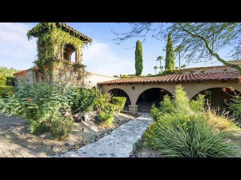 Historic Luxury Spanish-style Mansion - Scottsdale, AZ [VIDEO TOUR]