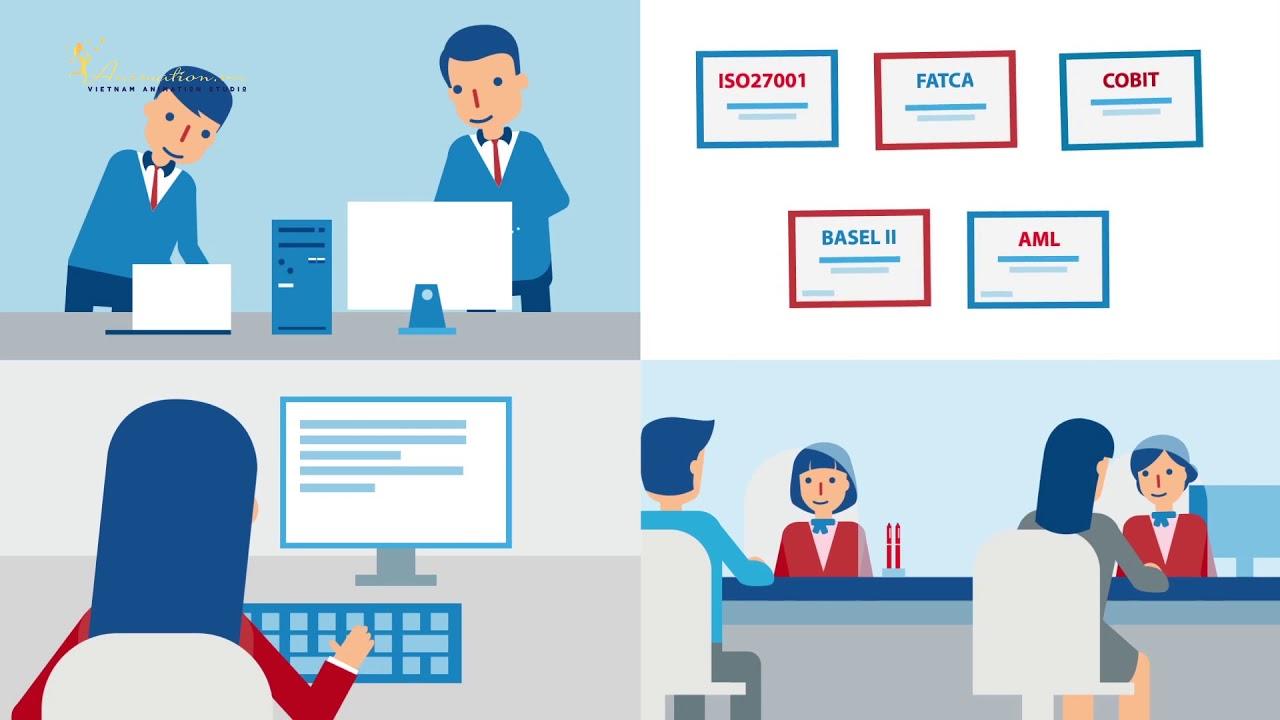 Video Graphic đồ họa chuyển động Capital Bank  [ANIMATION.VN]