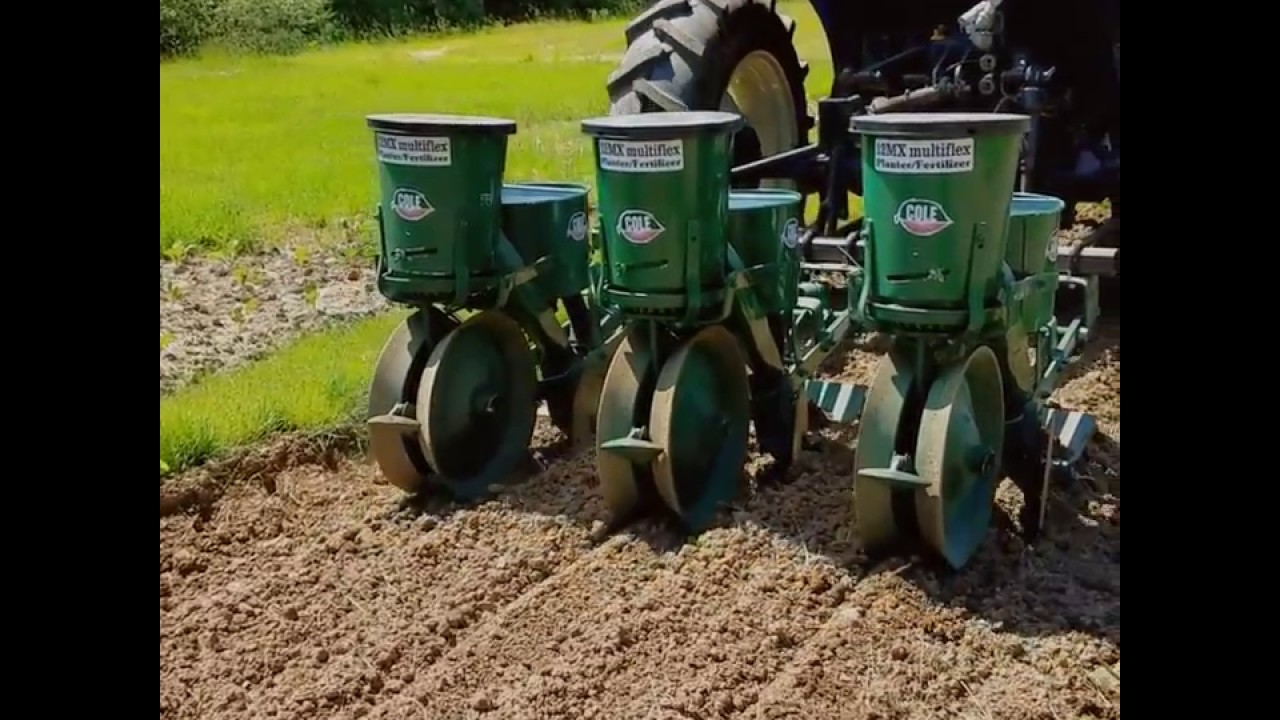 Setting Up Using A Cole 12mx Multiflex Planter Youtube