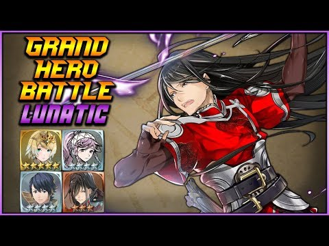 [F2P] LUNATIC Navarre ALL QUESTS - Grand Hero Battle - Fire Emblem Heroes