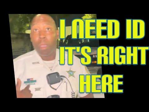 Cop demands ID and fails Cops don't know the law 1st amendment audit fail!