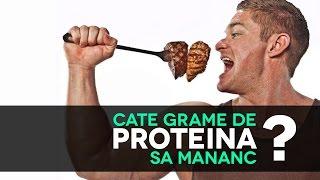 Cate Grame de Proteine pentru Masa Musculara