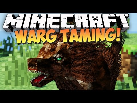 Minecraft: TAMING THE WARG - Lycanites Mobs (Mod Showcase Adventure)