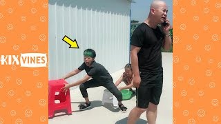 Funny videos 2018 ✦ Funny pranks try not to laugh challenge P16