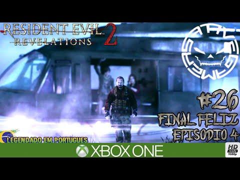 RESIDENT EVIL REVELATIONS 2 - #26 O FINAL FELIZ - EPISÓDIO 4 (Português-BR) XBOX ONE 1080P