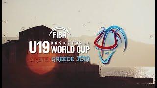 The FIBA U19 Basketball World Cup 2019 is coming to Heraklion (Greece)!