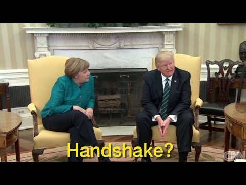 Thumbnail: Donald Trump Shuts Down Merkel's Handshake Request