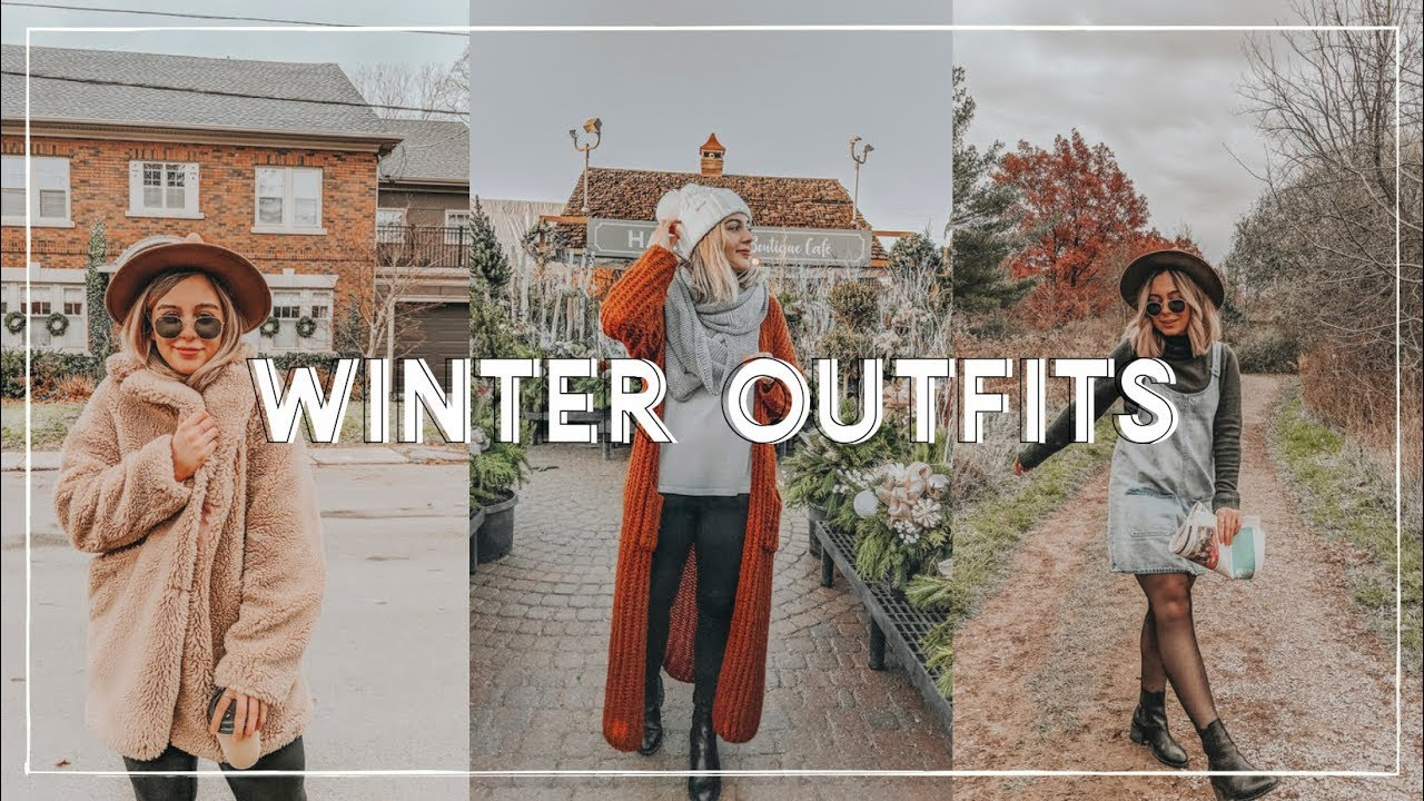 [VIDEO] - COLD WEATHER OUTFITS 2018    cold weather lookbook 2
