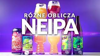 Różne oblicza NEIPA: Sour AIPA, Oatmeal DDH IPA, Forest & Forest Fruits NEIPA i DDH Double IPA