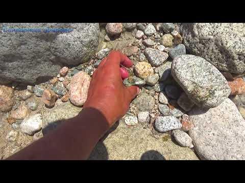 Камень красный карнеол можно найти на речке