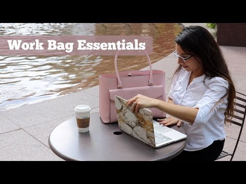 What's in my bag | Work Bag Essentials