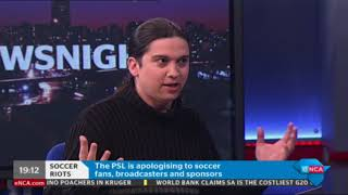 Counselling Psychologist, Jeremy Bayer, joins us on News Night to d...