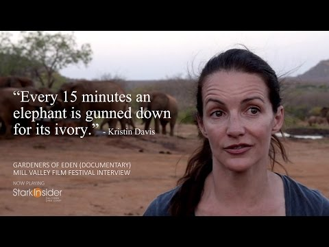 Kristin Davis on Elephant Poaching Crisis - Mill Valley Film Festival