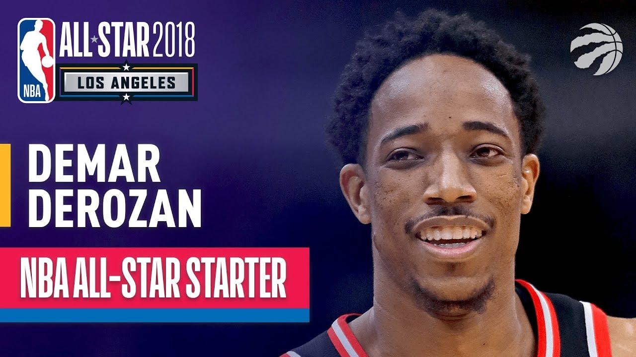 7e9eb03ccd3 DeMar DeRozan 2018 All-Star Starter | Best Highlights 2017-2018 ...
